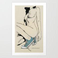 New Shoes Art Print