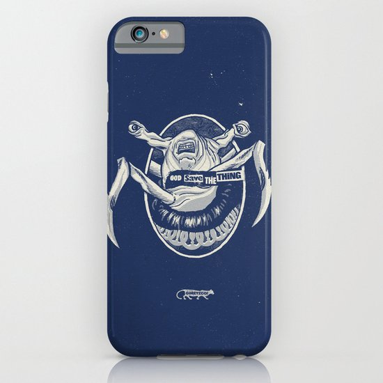 God Save the Thing iPhone & iPod Case