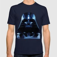 Darth Mens Fitted Tee Navy SMALL