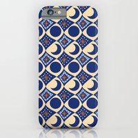 iPhone & iPod Case featuring Blue Moon Diamonds by Art Tree Designs