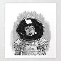 Ellen Ripley Alien Art Print