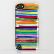 Colorful Stripes 1 iPod touch Slim Case