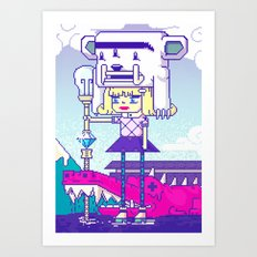 Dakota X Art Print