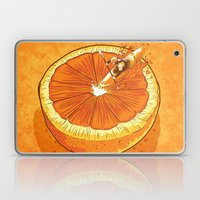 Rapid Orange Laptop & iPad Skin