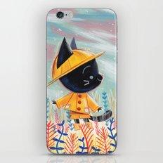 Raincoat 1 iPhone & iPod Skin