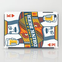 King Of Beers iPad Case