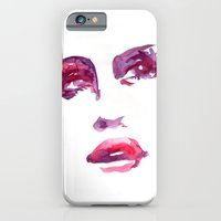 iPhone & iPod Case featuring Lady R by Maria