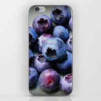 Blueberries - You Know You Want One iPhone & iPod Skin