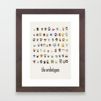 Archetypes Framed Art Print