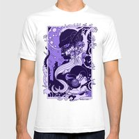 Horror Nouveau Mens Fitted Tee White SMALL