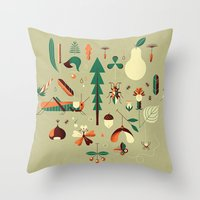 Throw Pillow featuring Countrylife #2 — Grass by Andrea Manzati