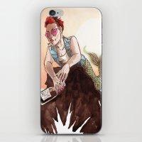Rebel Ariel iPhone & iPod Skin