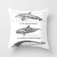 III. The Duodecimo Whale Throw Pillow