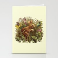 The Cottontail And The K… Stationery Cards