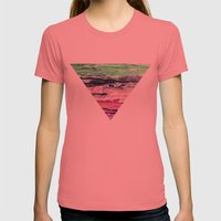 Wax #2 Womens Fitted Tee Pomegranate SMALL