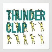 Thunder Clap Canvas Print