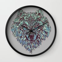 Wolf (Lone) Wall Clock