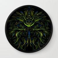 Mysticowl Wall Clock