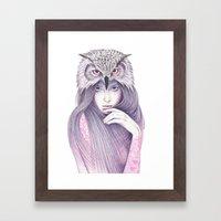The Wisdom Framed Art Print