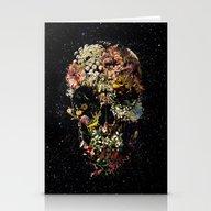 Smyrna Skull Stationery Cards