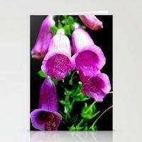 Flower Portrait Stationery Cards