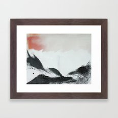 Morning's Snow Framed Art Print