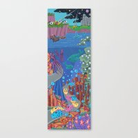 Underwater Parade Canvas Print