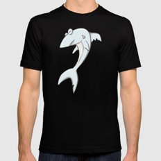 Chomp Mens Fitted Tee SMALL Black
