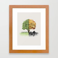 War and Peace Framed Art Print