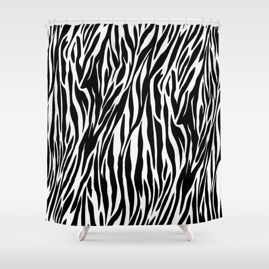 animal print shower curtain by gypsykissphotography society6
