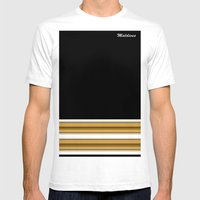 feyli Mens Fitted Tee White SMALL