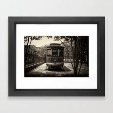Streetcar Named Desire - New Orleans 1988 Framed Art Print