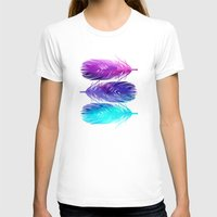 waves T-shirts featuring The Sound by Jacqueline Maldonado