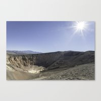 Ubehebe Crater Canvas Print