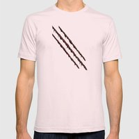 Sliced by You know who... Mens Fitted Tee Light Pink SMALL