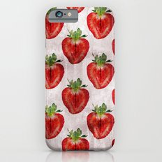 Strawberry Pattern I iPhone 6 Slim Case