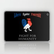 For The Victims Of Paris Laptop & iPad Skin
