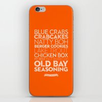 Baltimore — Delicious … iPhone & iPod Skin