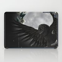 solar owls moon  iPad Case