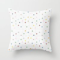 Pin Points Repeat Throw Pillow