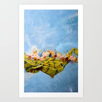 Breathe The Peace Breeze Art Print
