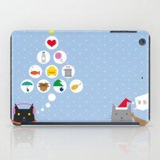 Santa Cat iPad Case