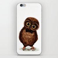 Owl III iPhone & iPod Skin
