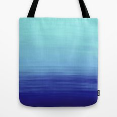 Ocean Ombre Painting Tote Bag