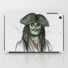 Captain Jack Zombie iPad Case