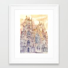 York Framed Art Print