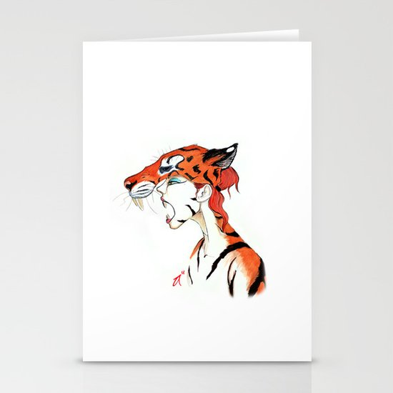 The Masquerade:  The Bengal Stationery Card