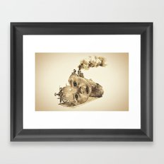 train of life Framed Art Print