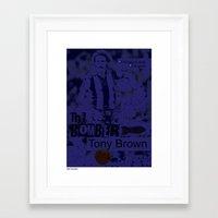 The Bomber - Tony Brown Framed Art Print