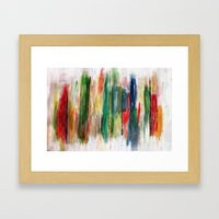 Acryl-Abstrakt 47 Framed Art Print